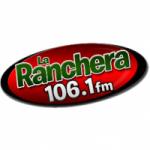 Logo da emissora Radio La Ranchera 106.1 FM