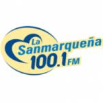Logo da emissora Radio La Sanmarqueña 100.1 FM
