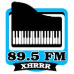 Logo da emissora Radio RRR 89.5 FM