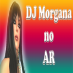 Logo da emissora DJ Morgana no Ar