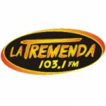 Logo da emissora Radio La Tremenda 103.1 FM