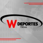 Logo da emissora Radio W Deportes 730 AM