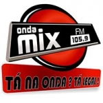 Logo da emissora Ráido Onda Mix 105.9 FM