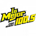 Logo da emissora Radio La Mejor 100.5 FM