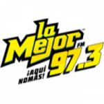 Logo da emissora Radio La Mejor 97.3 FM