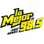 Logo da emissora Radio La Mejor 98.5 FM