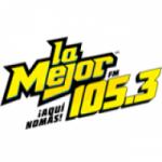 Logo da emissora Radio La Mejor 105.3 FM