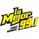 Logo da emissora Radio La Mejor 99.1 FM