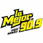 Logo da emissora Radio La Mejor 90.9 FM