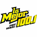 Logo da emissora Radio La Mejor 100.1 FM