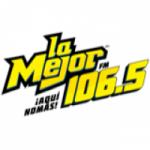 Logo da emissora Radio La Mejor 106.5 FM