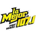 Logo da emissora Radio La Mejor 107.1 FM