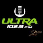 Logo da emissora Radio Ultra 102.9 FM