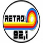 Logo da emissora Radio Retro 92.1 FM