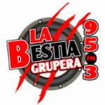 Logo da emissora Radio La Bestia Grupera 95.3 FM