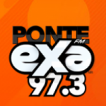 Logo da emissora Radio Exa 97.3 FM