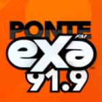 Logo da emissora Radio Exa 91.9 FM
