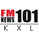 Logo da emissora KXL 101.0 FM