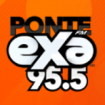 Logo da emissora Radio Exa 95.5 FM