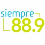 Logo da emissora Radio Siempre 88.9 FM