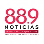 Logo da emissora Radio Noticias 88.9 FM