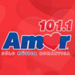 Logo da emissora Radio Amor 101.1 FM