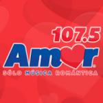 Logo da emissora Radio Amor 107.5 FM