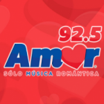 Logo da emissora Radio Amor 92.5 FM