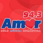 Logo da emissora Radio Amor 94.3 FM