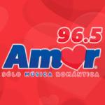 Logo da emissora Radio Amor 96.5 FM