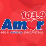 Logo da emissora Radio Amor 103.9 FM