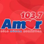 Logo da emissora Radio Amor 103.7 FM