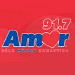 Logo da emissora Radio Amor 91.7 FM