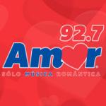 Logo da emissora Radio Amor 92.7 FM