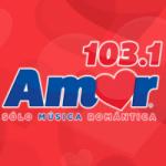 Logo da emissora Radio Amor 103.1 FM
