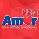 Logo da emissora Radio Amor 92.3 FM