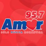 Logo da emissora Radio Amor 95.7 FM