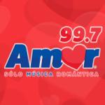Logo da emissora Radio Amor 99.7 FM