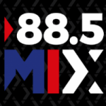 Logo da emissora Radio Mix 88.5 FM