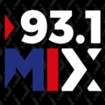 Logo da emissora Radio Mix 93.1 FM