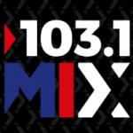 Logo da emissora Radio Mix 103.1 FM