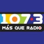 Logo da emissora Más Que Radio 107.3 FM