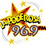 Logo da emissora Radio La Poderosa 96.9 FM
