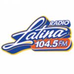 Logo da emissora Radio Latina 104.5 FM