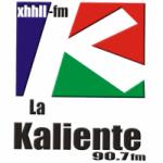 Logo da emissora Radio La Kaliente 90.7 FM