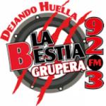 Logo da emissora Radio La Bestia Grupera 92.3 FM
