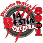 Logo da emissora Radio La Bestia Grupera 89.1 FM