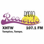 Logo da emissora Radio Recuerdo 107.1 FM