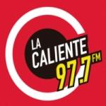 Logo da emissora Radio La Caliente 97.7 FM