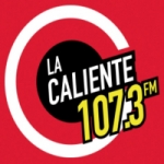 Logo da emissora Radio La Caliente 107.3 FM